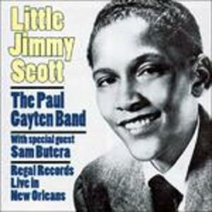 CD Regal Records. Live in New Orleans di Jimmy Scott