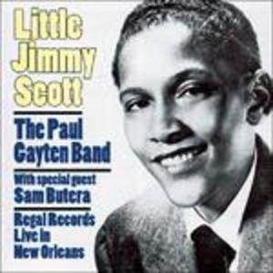 CD Regal Records. Live in New Orleans di Jimmy Scott