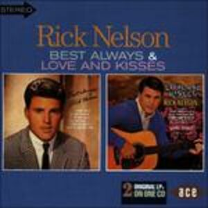 CD Best Always-Love and Kisses di Rick Nelson
