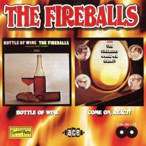 Foto Cover di Bottle of Wine-Come on, React!, CD di Fireballs, prodotto da Ace
