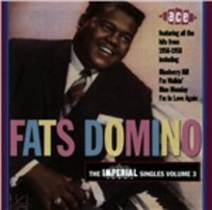 Foto Cover di Imperial Singles vol.3, CD di Fats Domino, prodotto da Ace