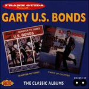 CD Quarter to 3 - Twist Up Calypso di Gary US Bonds