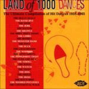 Foto Cover di Land Of 1000 Dances, CD di  prodotto da Ace 0