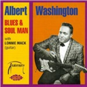 CD Blues & Soul Man di Albert Washington
