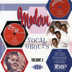 CD Modern Vocal Groups vol.3