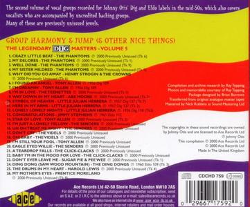 CD Group Harmony & Jump. Dig Masters vol.5  1