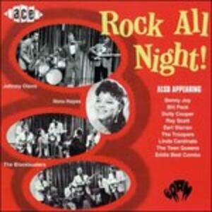 Foto Cover di Rock All Night!, CD di  prodotto da Ace