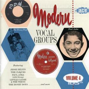 CD Modern Vocal Groups vol.4