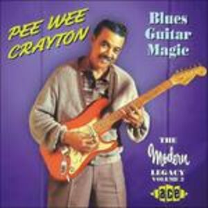 CD Blues Guitar Magic di Pee Wee Crayton