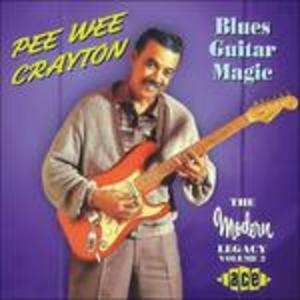 CD Blues Guitar Magic di Pee Wee Crayton