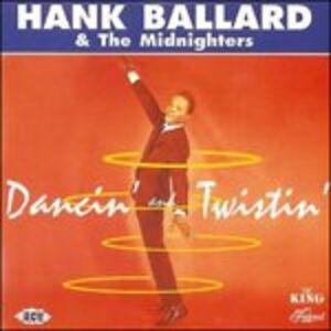 Foto Cover di Dancin' & Twistin', CD di Midnighters,Hank Ballard, prodotto da Ace Records