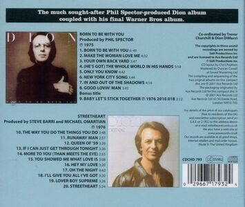 CD Born to Be with You-Streetheart di Dion 1