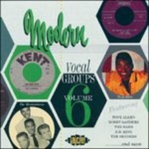 Foto Cover di Modern Vocal Groups vol.6, CD di  prodotto da Ace Records