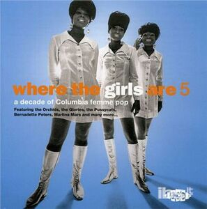 CD Where the Girls Are vol.5
