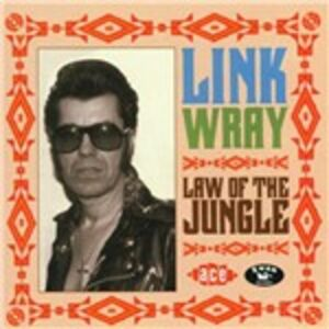 Foto Cover di Law of the Jungle, CD di Link Wray, prodotto da Ace