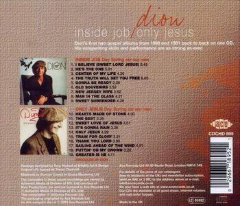 CD Inside Job - Only Jesus di Dion 1