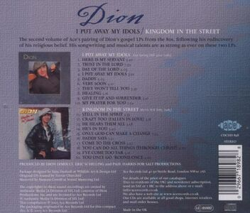 CD I Put Away My Idols-Kingdom di Dion 1