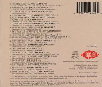 CD Mojo Workin.The Best of Ace Blues  1