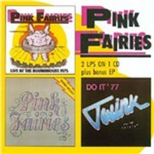 Foto Cover di Live at the Roundhouse, CD di Pink Fairies, prodotto da Big Beat