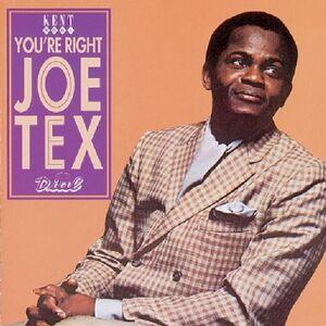 CD You're Right, Joe Tex di Joe Tex