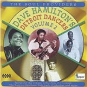 CD Detroit Dancers vol.2 di Dave Hamilton