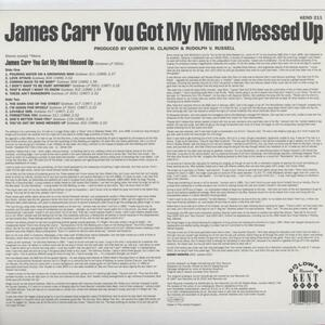 You Got My Mind Messed Up - Vinile LP di James Carr - 2
