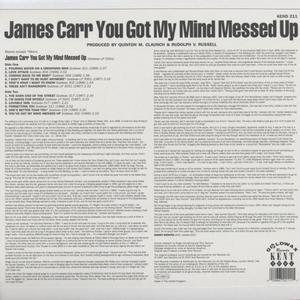 Vinile You Got My Mind Messed Up James Carr 1