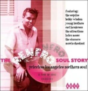 CD The Renfro Soul Sotry. Los Angeles Northern Soul