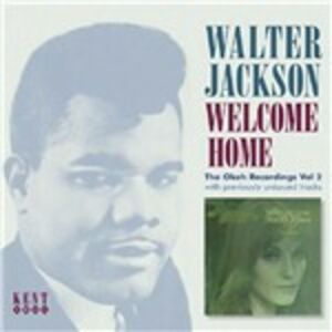 Foto Cover di Welcome Home, CD di Walter Jackson, prodotto da Kent