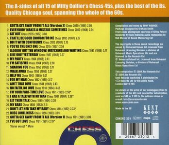 CD Shades of Mitty Collier di Mitty Collier 1