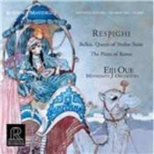 I pini di Roma - La regina di Saba - Vinile LP di Ottorino Respighi,Eiji Oue,Minnesota Orchestra