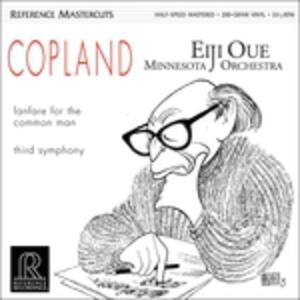 Fanfare for the Common Man - Sinfonia n.3 - Vinile LP di Aaron Copland,Eiji Oue,Minnesota Orchestra