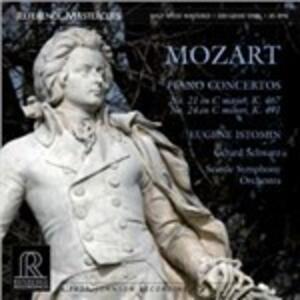 Concerti per pianoforte n.21, n.24 - Vinile LP di Wolfgang Amadeus Mozart,Eugene Istomin,Gerard Schwarz,Seattle Symphony Orchestra