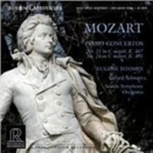 Concerti per pianoforte n.21, n.24 - Vinile LP di Wolfgang Amadeus Mozart,Eugene Istomin,Gerard Schwarz,Seattle Symphony Orchestra