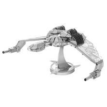 Fascinations Metal Earth Star Trek Klingon Bird Of Prey 3D Metal Model Kit