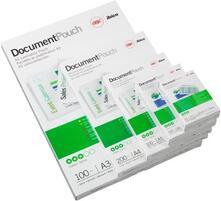 GBC Pouch per carta di credito 54x86 mm 2x250 mic lucide (100)