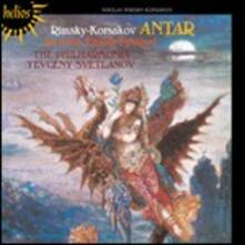 Antar - La grande Pasqua russa - CD Audio di Nikolai Rimsky-Korsakov,Philharmonia Orchestra,Evgeny Svetlanov