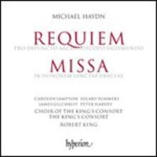 Requiem Pro Defuncto Archiepiscopo Sigismundo - Missa in Honorem Sanctae Ursulae - CD Audio di Johann Michael Haydn,Robert King,King's Consort