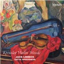 Musica per violino - CD Audio di Fritz Kreisler,Jack Liebeck