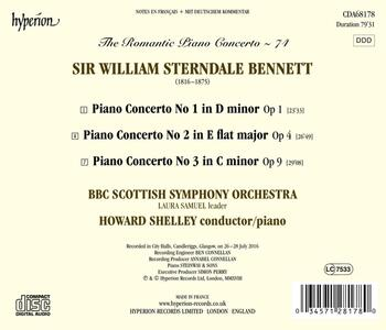 Concerti per pianoforte n.1, n.2, n.3 - CD Audio di BBC Symphony Orchestra,William Sterndale Bennett - 2