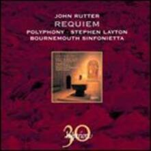 Requiem e altre opere corali - CD Audio di John Rutter,Bournemouth Sinfonietta,Polyphony,Stephen Layton