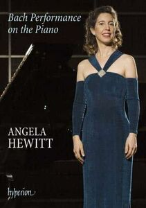Film Angela Hewitt. Bach Performance on the Piano