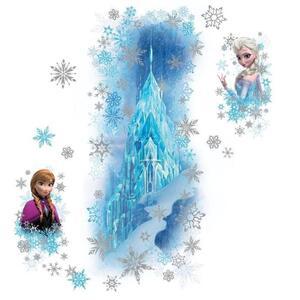 Adesivi Murali Removibili. Disney Frozen Palazzo di Ghiaccio