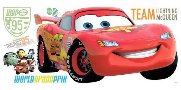 Adesivo da Parete Cars. Saetta McQueen