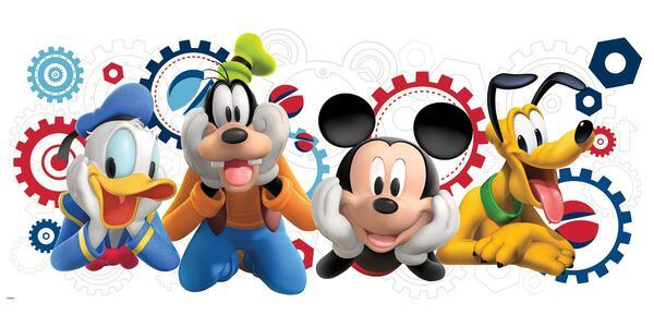 Adesivi Murali Removibili. Disney La Casa di Topolino - 2