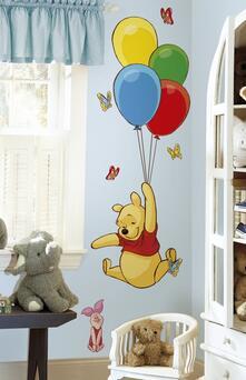 Adesivo da Parete Winnie The Pooh