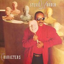 Characters - Vinile LP di Stevie Wonder