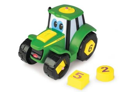 Trattore Johnny Learn & Play Tomy - 3