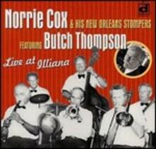 Live at Illiana - CD Audio di New Orleans Stompers,Norrie Cox