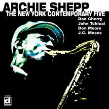 New York Contemporary 5 (feat. Archie Shepp) - CD Audio di New York Contemporary Five